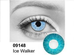 THEATRICAL CONTACT LENSES -  ICE WALKER - BLUE (90 DAYS) 09.148