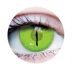 THEATRICAL CONTACT LENSES -  JURASSIC III - GREEN (90 DAYS)