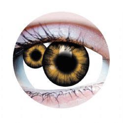 THEATRICAL CONTACT LENSES -  MUTATION - BROWN (90 DAYS)