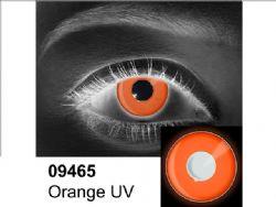 THEATRICAL CONTACT LENSES -  ORANGE UV - ORANGE (90 DAYS) 09.465