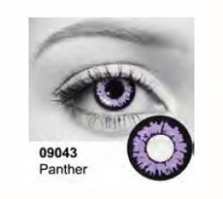 THEATRICAL CONTACT LENSES -  PANTHER (90 DAYS)