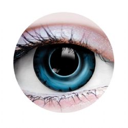 THEATRICAL CONTACT LENSES -  PIRANHA - BLUE (90 DAYS)