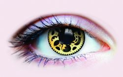 THEATRICAL CONTACT LENSES -  STEAMPUNK (90 DAYS)