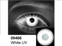 THEATRICAL CONTACT LENSES -  WHITE UV (90 DAYS) 09.466