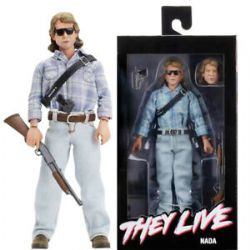 THEY LIVE -  JOHN NADA CLOTHED ACTION FIGURE (8