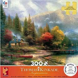 THOMAS KINKADE -  END OF A PERFECT DAY III (300 PIECES)