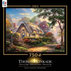 THOMAS KINKADE -  LOVELIGHT COTTAGE (750 PIECES)