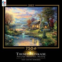 THOMAS KINKADE -  NATURE'S PARADIS (750 PIECES)
