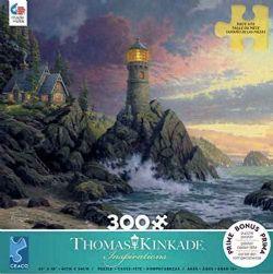 THOMAS KINKADE -  ROCK OF SALVATION (300 PIECES)
