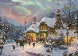 THOMAS KINKADE -  SANTA'S NIGHT BEFORE CHRISTMAS (1000 PIECES)
