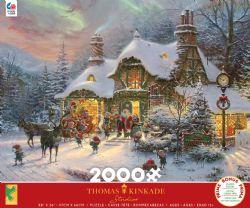 THOMAS KINKADE -  SANTA'S NIGHT BEFORE CHRISTMAS (2000 PIECES)