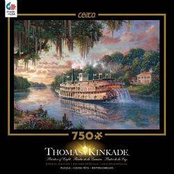 THOMAS KINKADE -  THE RIVER QUEEN (750 PIECES)