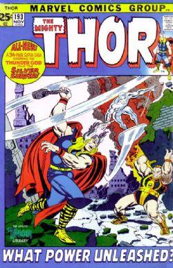 THOR -  THOR (1971) - VERY FINE - 8.0 193