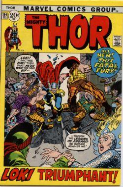 THOR -  THOR (1971) - VERY FINE - 8.0 194