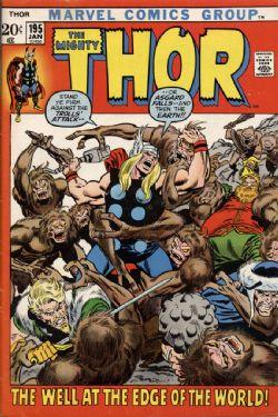 THOR -  THOR (1972) - VERY FINE - 8.0 195