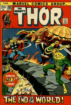 THOR -  THOR (1972) - VERY FINE - 8.0 200
