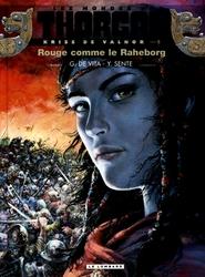 THORGAL -  KRISS DE VALNOR - ROUGE COMME LE RAHABORG -  LES MONDES DE THORGAL 05