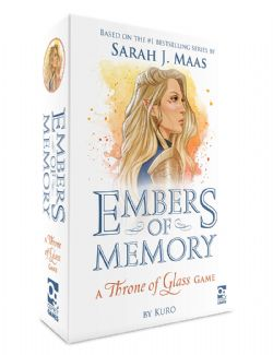 THRONE OF GLASS -  EMBERS OF MEMORY: A THRONE OF GLASS GAME