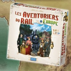TICKET TO RIDE -  EUROPE - ÉDITION 15E ANNIVERSAIRE (FRENCH)