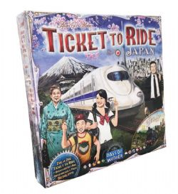TICKET TO RIDE -  JAPAN + ITALY (MULTILINGUAL)