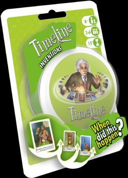 TIMELINE -  INVENTIONS ECO (ENGLISH)