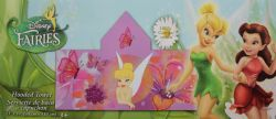 TINKERBELL -  HOODED TOWEL WITH FLOWERS