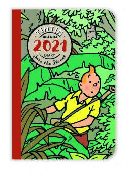 TINTIN -  2021 POCKET DIARY - SAVE THE PLANET