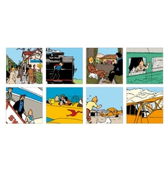 TINTIN -  8 MINI GREETING CARDS WITH ENVELOPPES SET