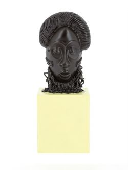 TINTIN -  AFRICAN MASK (5.5 IN)