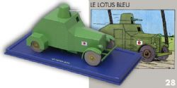 TINTIN -  ARMORED CAR SCALE MODEL FROM