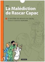 TINTIN -  LE MYSTÈRE DES BOULES DE CRISTAL -  MALEDICTION DE RASCAR CAPAC, LA 01