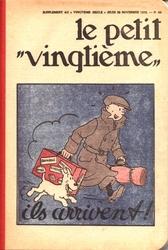 TINTIN -  LE PETIT VINGTIÈME