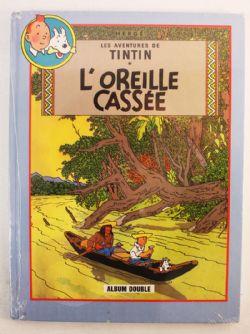 TINTIN -  OREILLE CASSÉE/COKE EN STOCK