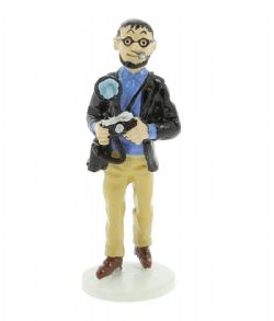 TINTIN -  THE PHOTOGRAPHER W. RIZZOTO ALLOY FIGURE (2