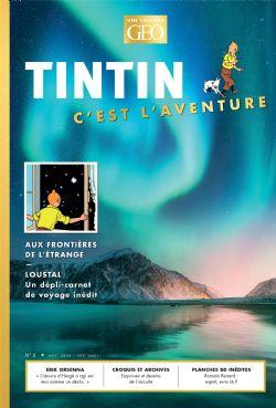 TINTIN -  TINTIN C'EST L'AVENTURE -  GEO 6