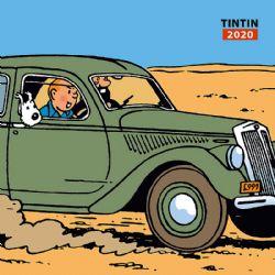 TINTIN -  TINTIN - CALENDRIER TINTIN 2020 (12 MOIS)