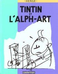 TINTIN -  TINTIN ET L'ALPH-ART (ÉDITION DE LUXE)
