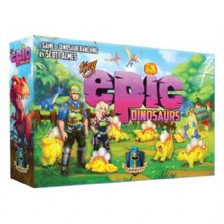 TINY EPIC DINOSAURS -  BASE GAME (ENGLISH)