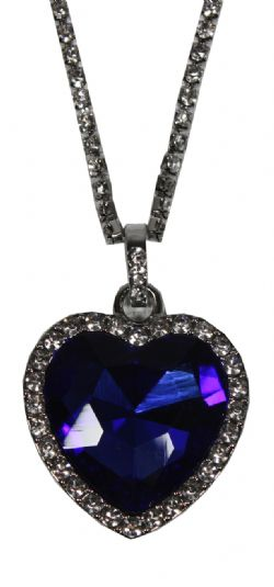 TITANIC -  HEART OF THE OCEAN NECKLACE