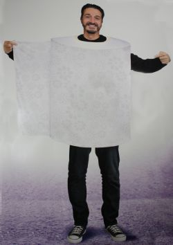 TOILET PAPER COSTUME (ADULT - ONE-SIZE)