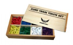 TOKEN -  EURO TRAIN TOKEN SET (350) -  MAYDAY GAMES