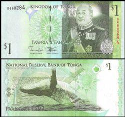 TONGA -  1 PA'ANGA 2008 (UNC)