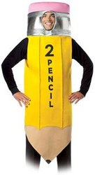TOOL -  #2 PENCIL COSTUME (ADULT - ONE SIZE)