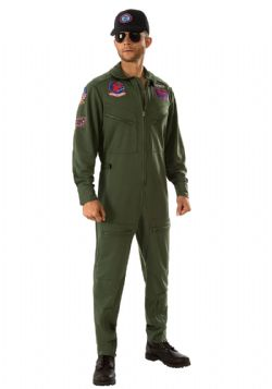 TOP GUN -  TOP GUN COSTUME (ADULT) -  TOP GUN