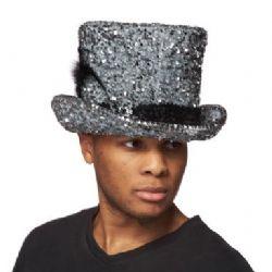 TOP HAT -  NUGGET ENCRUSTED PIMP BELL TOP HAT