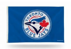 TORONTO BLUE JAYS -  3' X 5' HORIZONTAL FLAG