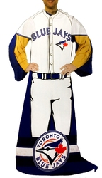TORONTO BLUE JAYS -  BLANKET WITH SLEEVES (SNUGGIE) 48