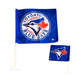 TORONTO BLUE JAYS -  CAR FLAG
