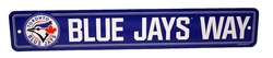 TORONTO BLUE JAYS -  STREET SIGN