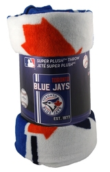 TORONTO BLUE JAYS -  SUPER SOFT THROW (46